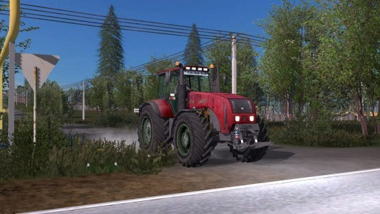 Мод «МТЗ-3522С» для Farming Simulator 2017