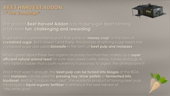 Мод «Beet Harvest Addon» для Farming Simulator 2019