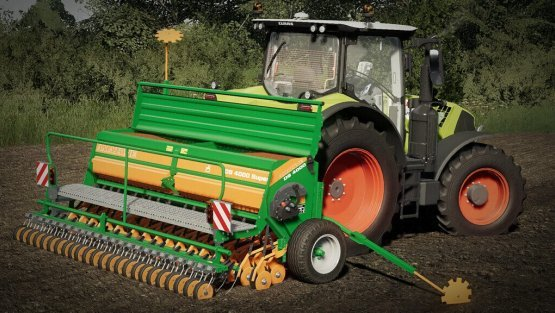 Мод «Amazone D9 Super Pack» для Farming Simulator 2019