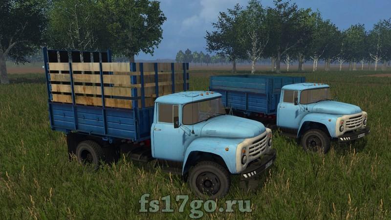 скачать мод зил для farming simulator 2017