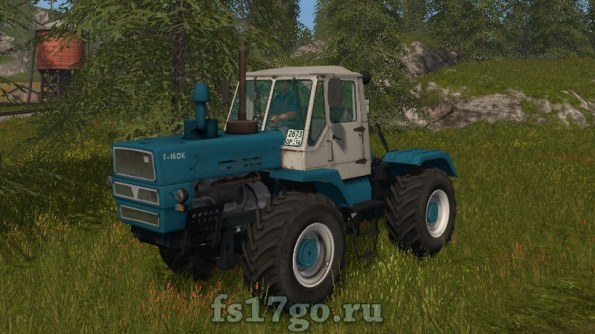 Мод ХТЗ Т-150К для Farming Simulator 2017