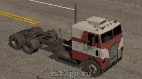 Мод безкапотник Freightliner для Farming Simulator 2017