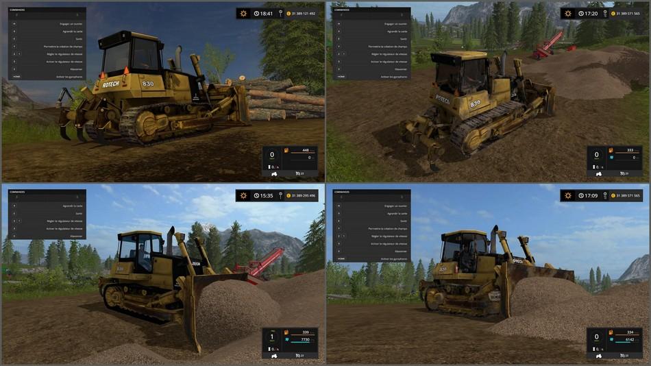 скачать мод бульдозер для farming simulator 2017