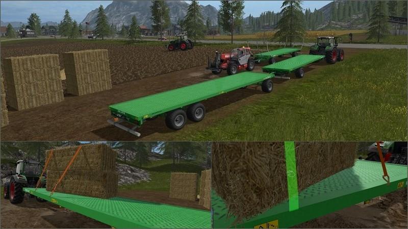 скачать мод на фермер симулятор 2017 прицепы с автоподбором - фото 2
