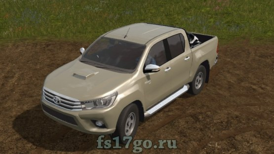 Мод Toyota Hilux для Farming Simulator 2017