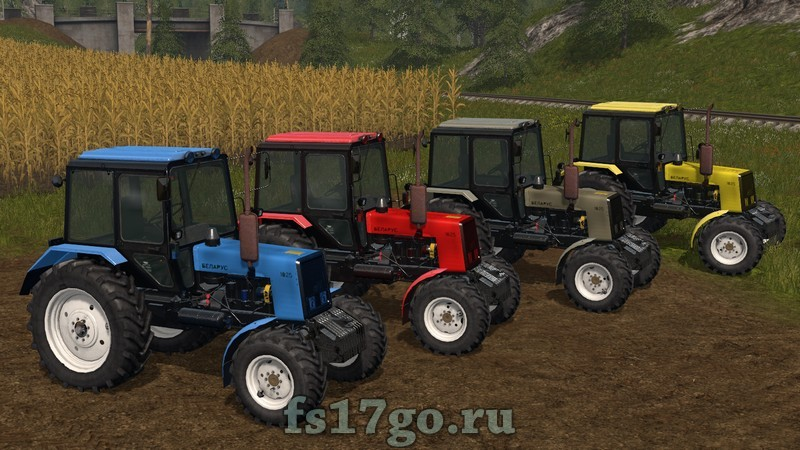 Мод FS17 МТЗ 1025.3 v 2.0.0 для Фермер Симулятор 2017