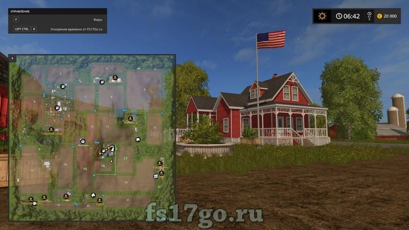 скачать карту бьорнхольм для farming simulator 2017