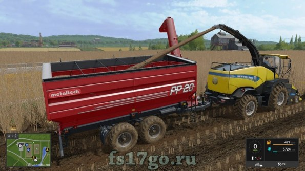 Прицеп Auger Wagon PP20 для Farming Simulator 2017