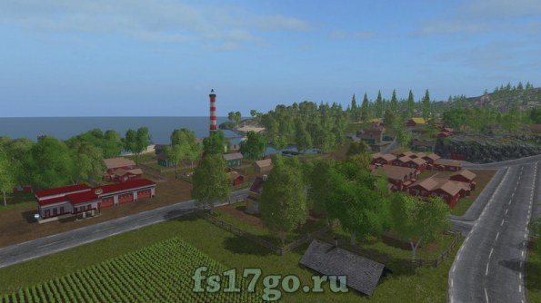 Карта Бьорнхольм для Farming Simulator 2017