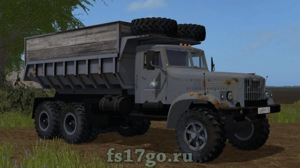 КрАЗ 256Б для Farming Simulator 2017