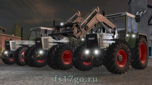 Трактора Fendt Farmer 310 312 для Farming Simulator 2017