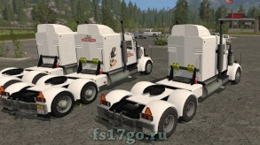 Тягач Lizard TS320 для Farming Simulator 17