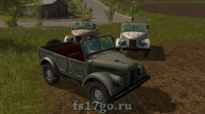 ГАЗ-69 для Farming Simulator 2017