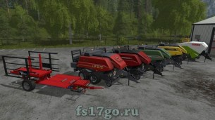 Пак техники для тюковки для Farming Simulator 2017