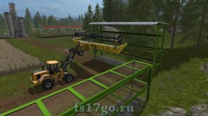 Мод Стеллажи для Farming Simulator 2017
