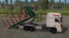 DAF XF ITRunner для Farming Simulator 2017
