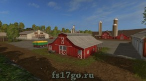 Карта Холмы Вестбриджа для Farming Simulator 2017