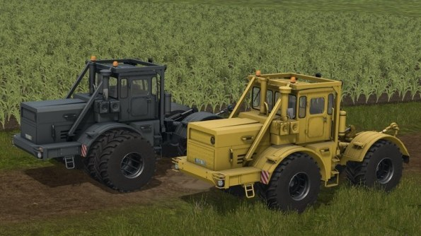Мод трактора «Кировец» К-700А для Farming Simulator 2017