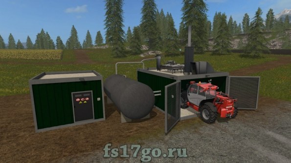 Мод Биогаз (БГА) для Farming Simulator 2017