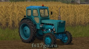 Мод трактора «Т-40 АМ» для Farming Simulator 2017