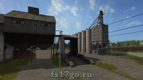 Карта Черкащина для Farming Simulator 2017