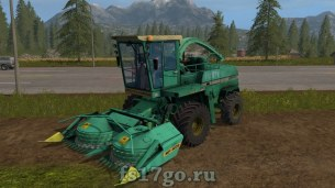 Комбайн Дон 680 для Farming Simulator 2017