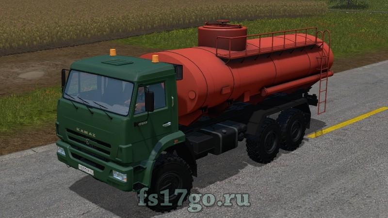 скачать мод бензовоз для Farming Simulator 2017 img-1