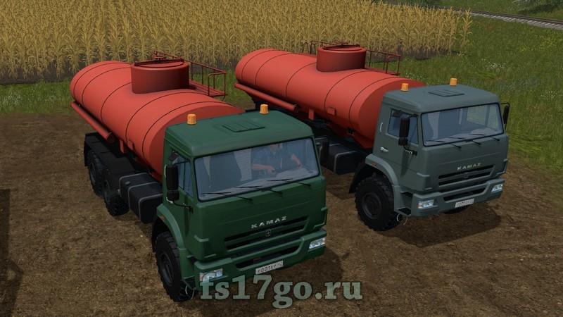 скачать мод бензовоз для Farming Simulator 2017 - фото 10
