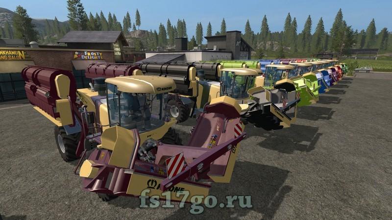 скачать мод косилки для Farming Simulator 2017 - фото 7