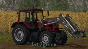 Мод трактор МТЗ 1220.3 для Farming Simulator 2017