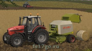 Мод тюкопресса Claas Rollant 250 RC для Farming Simulator 2017