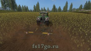 Мод борона БДТ-7 для Farming Simulator 2017