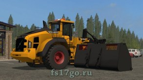 Мод погрузчик Volvo L220H для Farming Simulator 2017