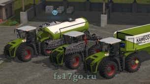 Мод пак Claas Xerion для Farming Simulator 2017