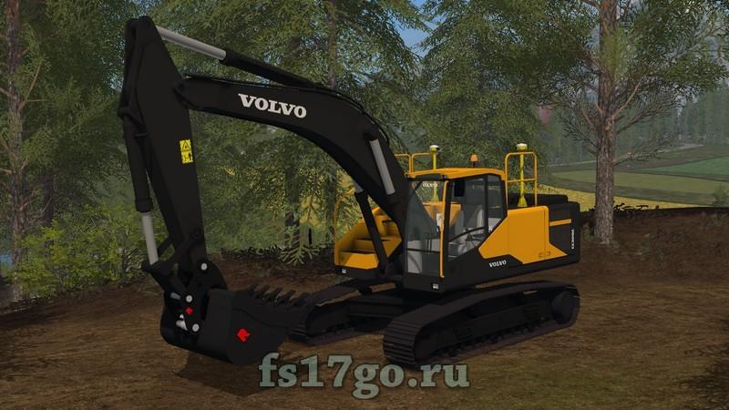 Скачать мод экскаватор на фермер симулятор 2017