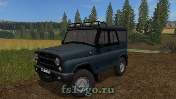 Мод автомобиля УАЗ для Farming Simulator 2017