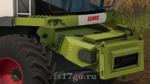 Мод пак Claas Lexion 600, 580 для Farming Simulator 2017