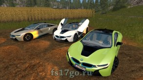 Мод BMW i8 для Farming Simulator 2017