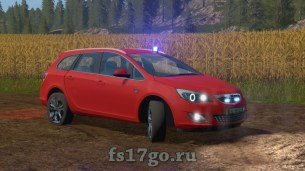 Мод автомобиль Opel Astra для Farming Simulator 2017
