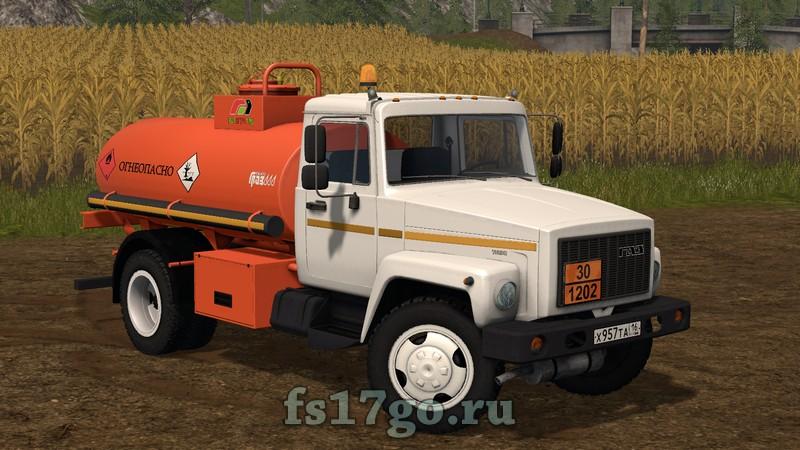 скачать мод бензовоз для Farming Simulator 2017 - фото 6