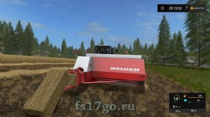 Мод тюковщика Welger AP 730 для Farming Simulator 2017