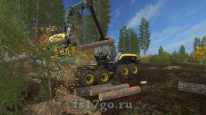 Мод на опилки для Farming Simulator 2017