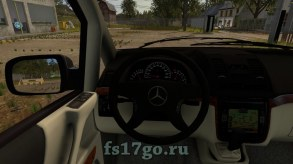 Мод минивэн Mercedes Benz Viano для Farming Simulator 2017