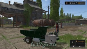 Мод «SF TIPPER» для Farming Simulator 2017
