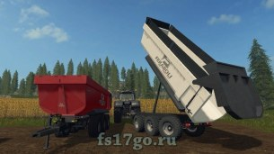 Мод прицеп Feraboli Dumper 3-х осный для Farming Simulator 2017