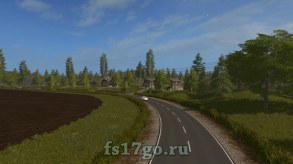 Карта Sherwood Park Farm для Farming Simulator 2017