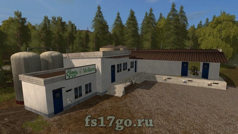коровник для farming simulator 2017