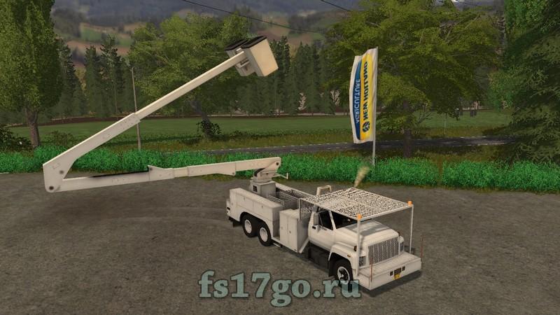 Мод GMC Topkick Bucket Truck для Farming Simulator 2017