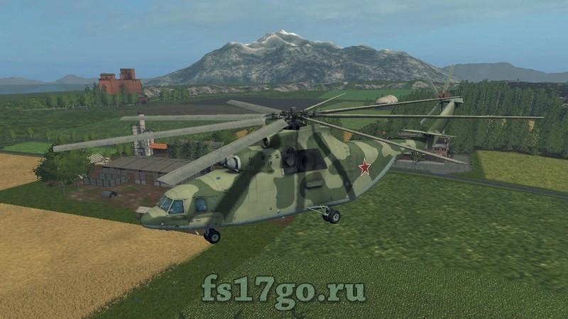 скачать мод на фарминг симулятор на вертолет