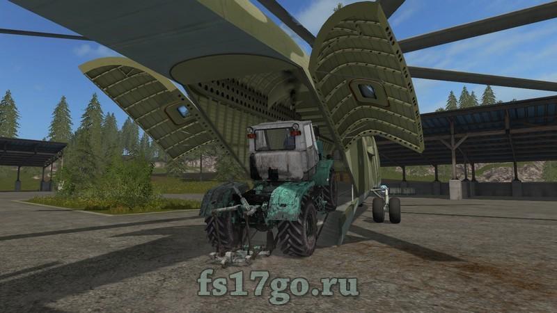 скачать мод вертолет для Farming Simulator 2017 - фото 9